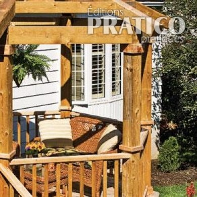 comment construire une pergola en tapes jardinage et ext rieur pratico pratique. Black Bedroom Furniture Sets. Home Design Ideas
