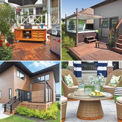 Top 10 des nouvelles tendances pour le patio trucs et for Plan patio exterieur