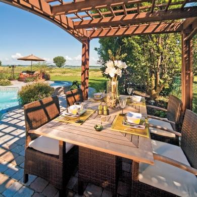 on mange dehors 10 coins repas patants galeries d 39 ext rieurs jardinage et ext rieur. Black Bedroom Furniture Sets. Home Design Ideas