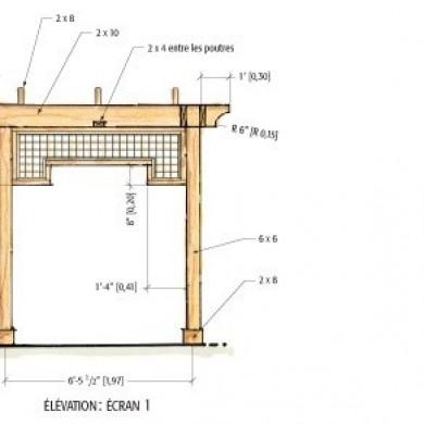 Plans pour fabriquer une pergola en cèdre rouge - Plans et patrons - Jardinage et extérieur ...