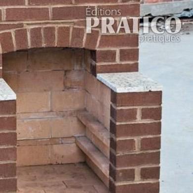 r aliser un foyer de briques pour l 39 ext rieur en tapes
