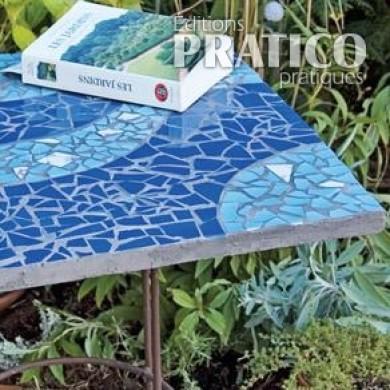 Comment faire une petite table bistro en mosaïque - En étapes ...
