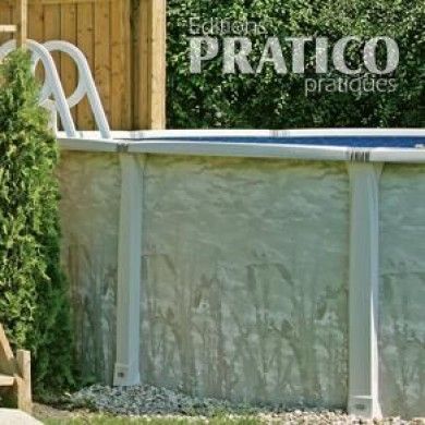 Installer une piscine hors terre en tapes jardinage for Installer une piscine