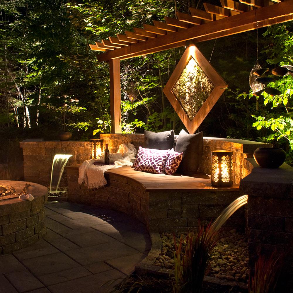 Temple zen dans la cour cour inspirations jardinage for Cour exterieur zen