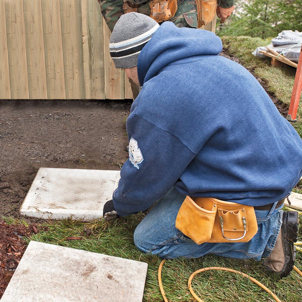 en tapes faites votre patio avec notre expert je jardine. Black Bedroom Furniture Sets. Home Design Ideas