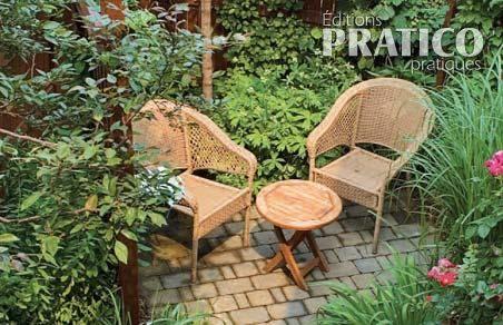Cour intime et sans pelouse inspirations jardinage et for Amenagement jardin sans pelouse