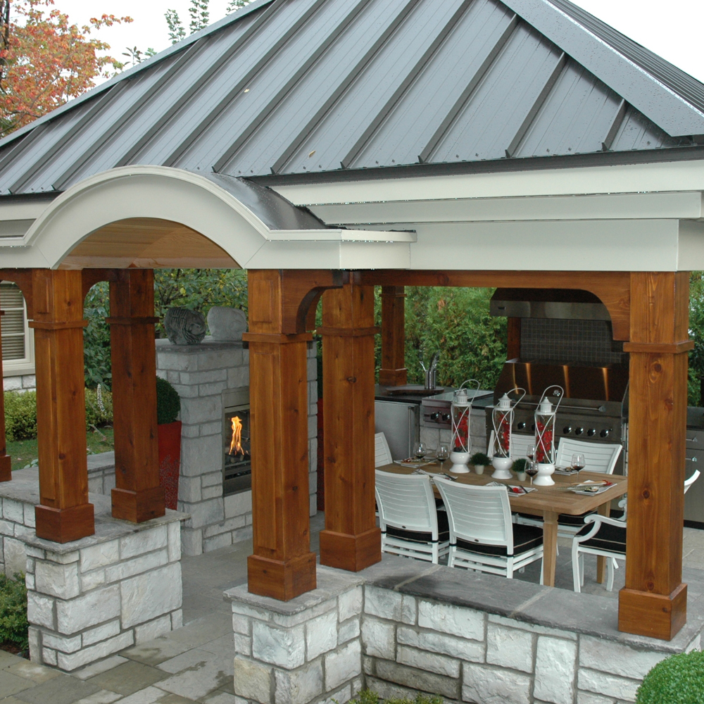 terrasse sous le pavillon cour inspirations jardinage et ext rieur pratico pratique. Black Bedroom Furniture Sets. Home Design Ideas