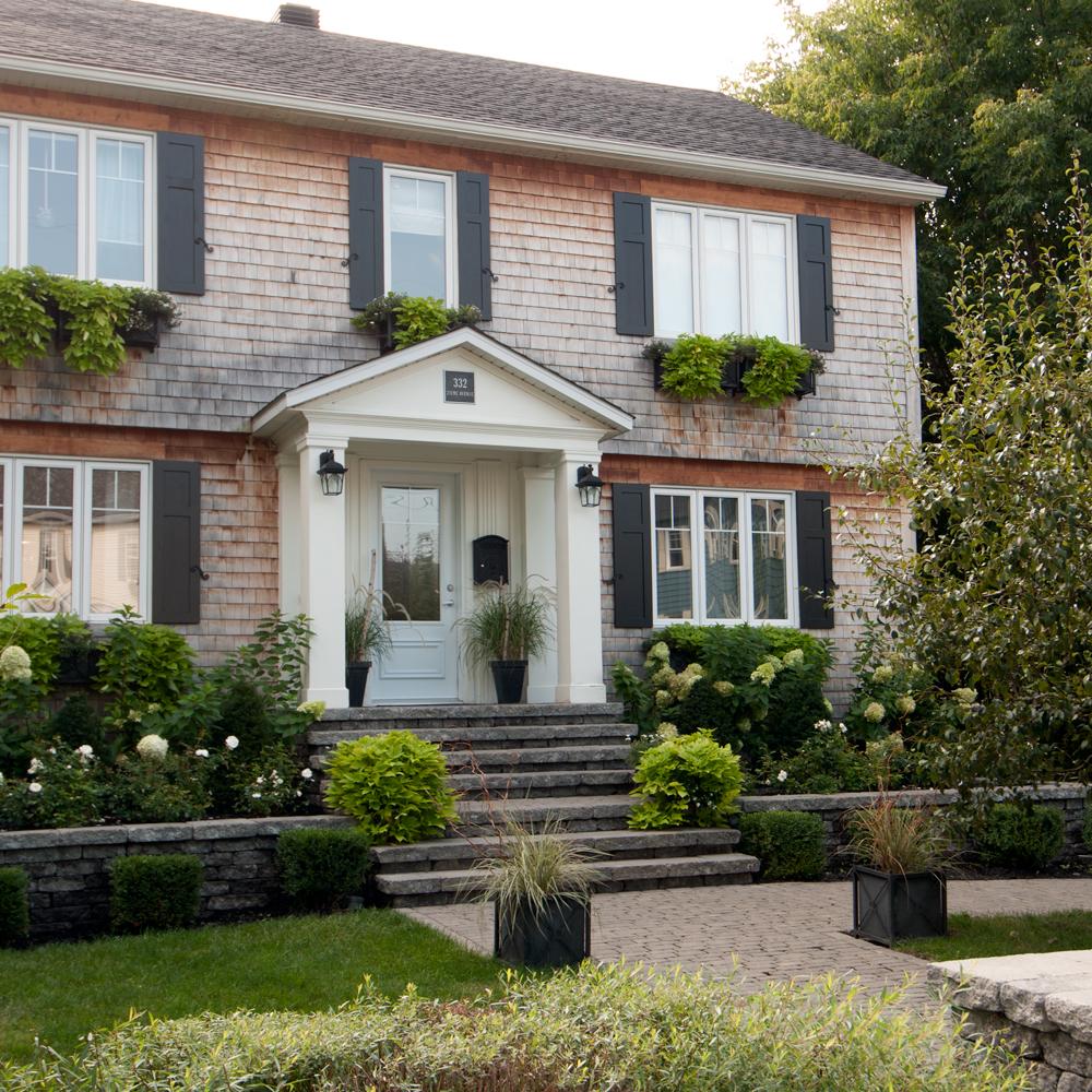 Jardin fran ais cottage anglais cour inspirations for Exterieur anglais