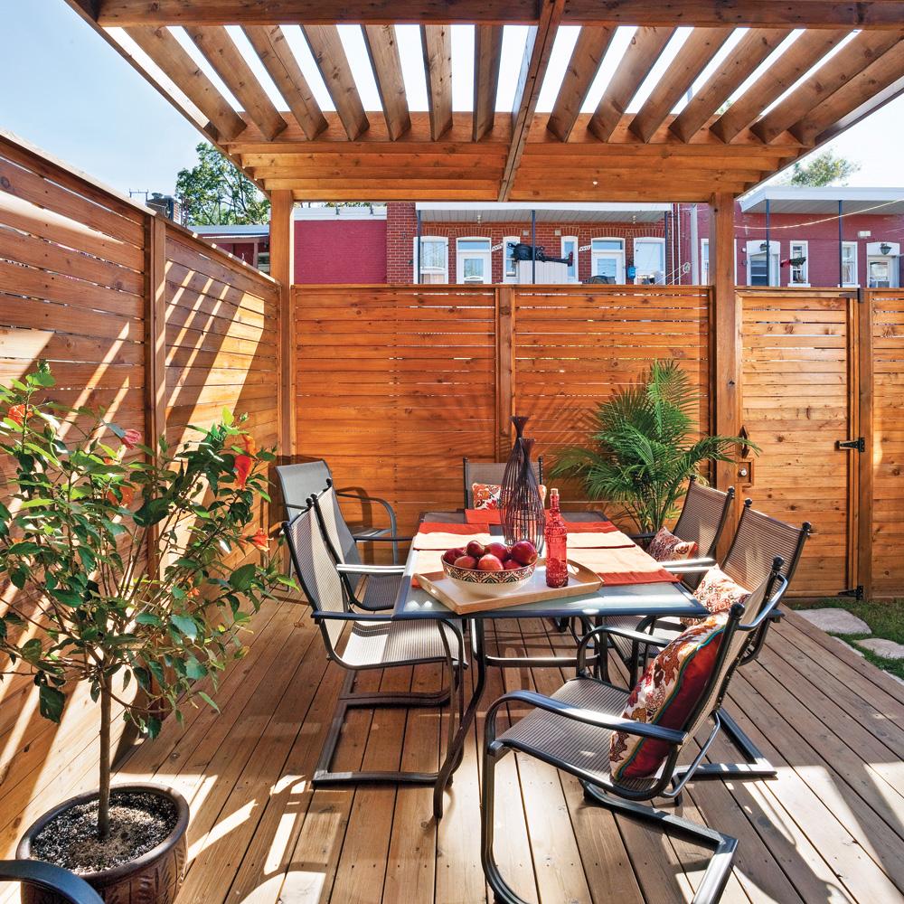 un jardin secret patio inspirations jardinage et ext rieur pratico pratique. Black Bedroom Furniture Sets. Home Design Ideas