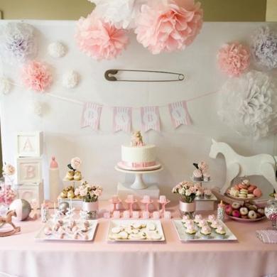Inspiration pinterest 25 id es pour un shower de b b inoubliable grossesse sant et - Decoration de bebe ...