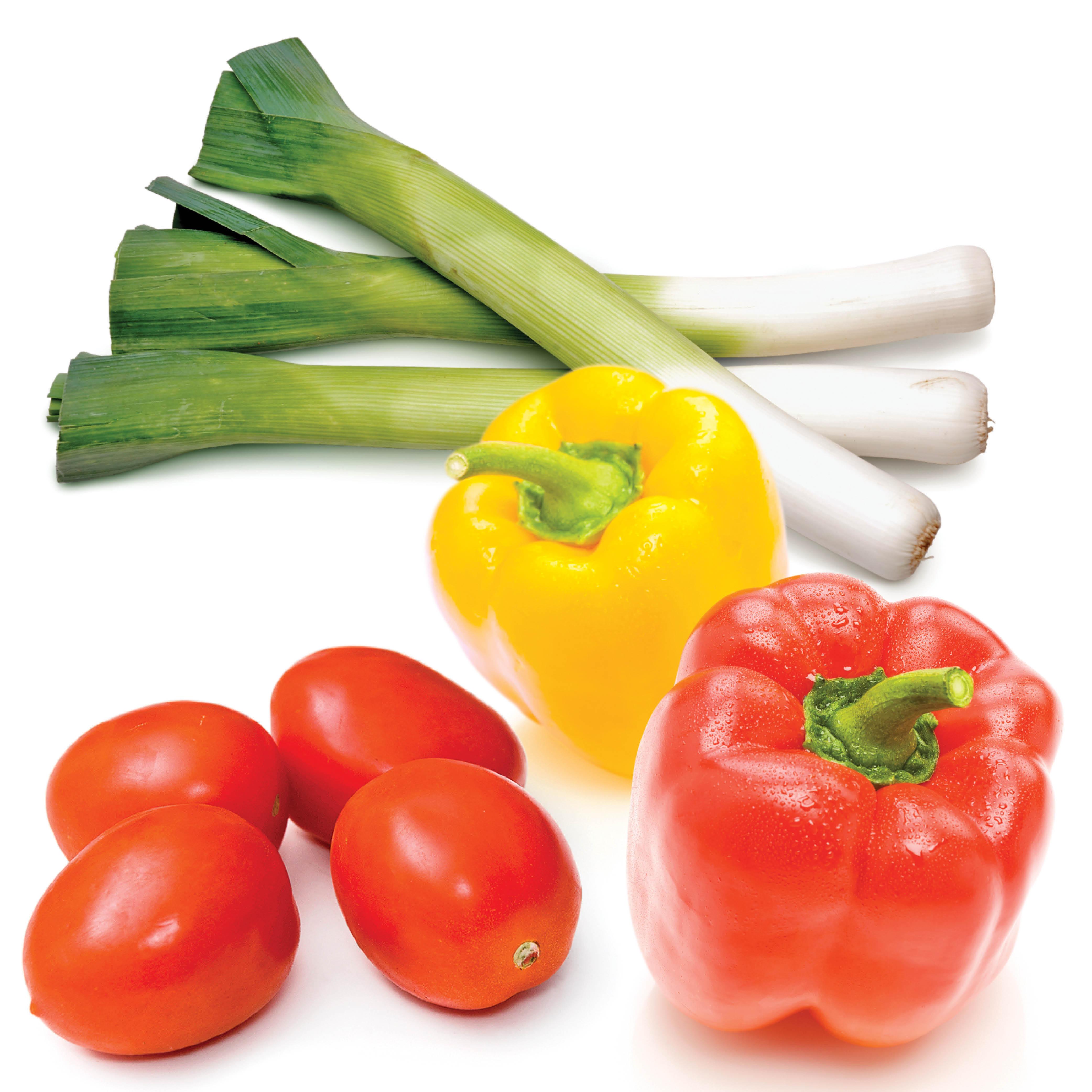 déco légumes crus