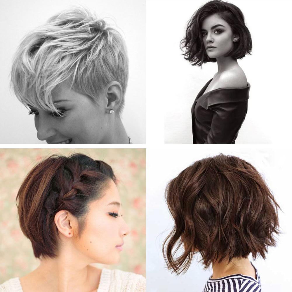 Les plus belles coupes de cheveux courts trouvées sur Pinterest ...