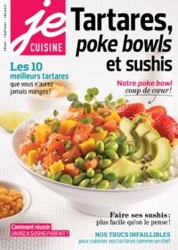 Tartares, poke bowls et sushis