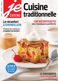 Cuisine traditionnelle, Vol. 13 No. 8