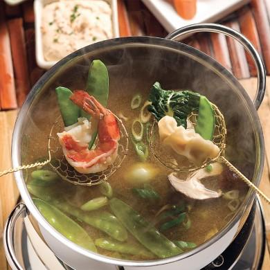 Fondue la japonaise recettes cuisine et nutrition - Cuisine japonaise sante ...