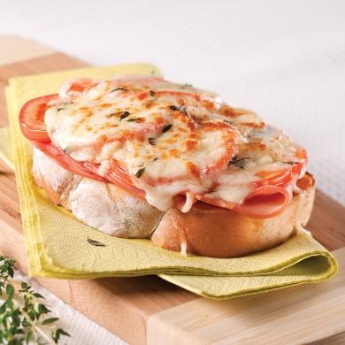 Croque monsieur jambon tomates recettes cuisine et nutrition pratico pratique - Recette croque monsieur four ...