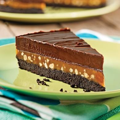 tarte sublime au chocolat caramel et arachides recettes cuisine et nutrition pratico pratique. Black Bedroom Furniture Sets. Home Design Ideas