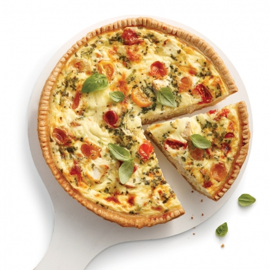 Quiche au poulet l 39 italienne recettes cuisine et - Recette de cuisine quiche au poulet ...