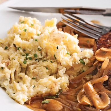 pommes de terre cr meuses au micro ondes recettes cuisine et nutrition pratico pratique. Black Bedroom Furniture Sets. Home Design Ideas