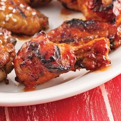 ailes de poulet sauce barbecue la bi re recettes cuisine et nutrition pratico pratique. Black Bedroom Furniture Sets. Home Design Ideas