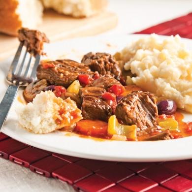 Casserole de boeuf brais la proven ale recettes for Art et cuisine casseroles