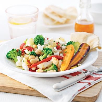 salade de haricots blancs l 39 indienne recettes cuisine et nutrition pratico pratique. Black Bedroom Furniture Sets. Home Design Ideas