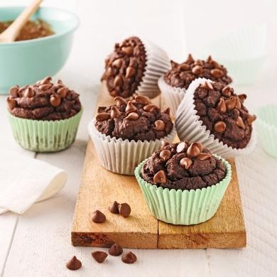 Muffins-brownies aux pois chiches - Recettes - Cuisine et..