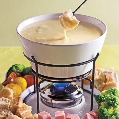 Fondue qu b coise recettes cuisine et nutrition for Cuisine quebecoise