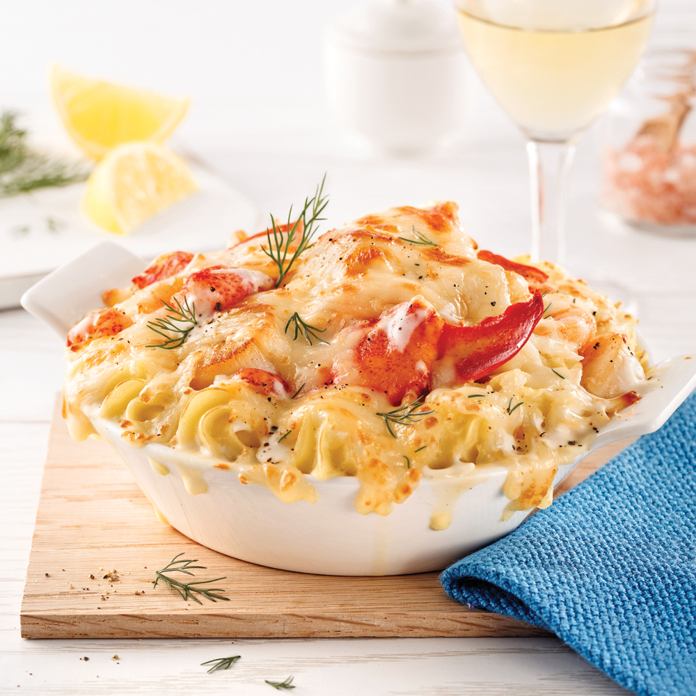 gratin de homard fa on saint jacques recettes cuisine et nutrition pratico pratique. Black Bedroom Furniture Sets. Home Design Ideas