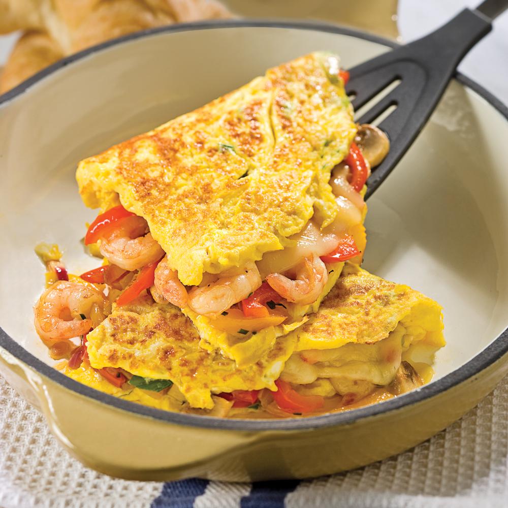 comment faire une omelette savoureuse en tapes cuisine et nutrition pratico pratique. Black Bedroom Furniture Sets. Home Design Ideas