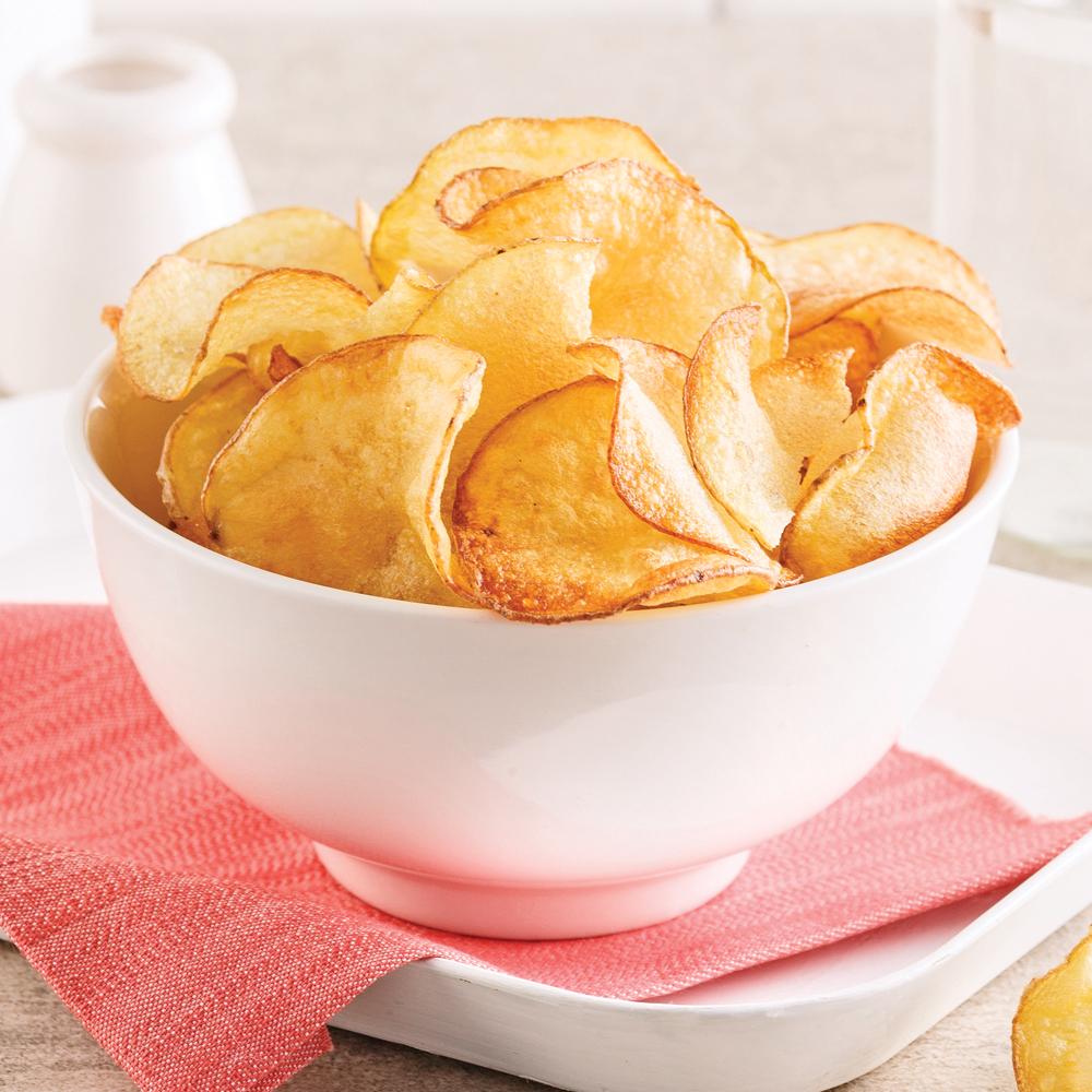 Chips sant au micro ondes recettes cuisine et - Cuisine au micro onde ...