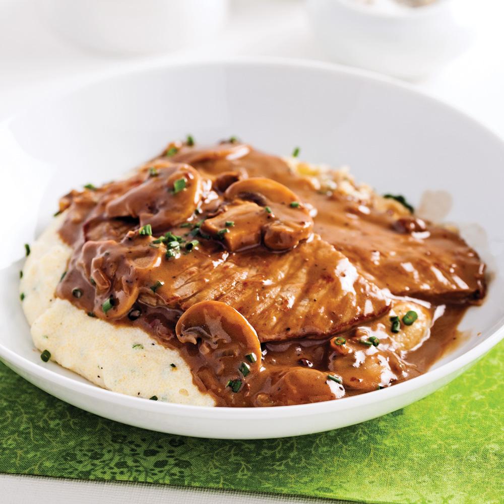 escalopes de veau sauce marsala et poivre recettes cuisine et nutrition pratico pratique. Black Bedroom Furniture Sets. Home Design Ideas