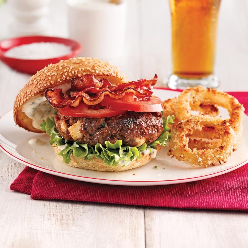 burger de boeuf gourmand recettes cuisine et nutrition pratico pratique. Black Bedroom Furniture Sets. Home Design Ideas