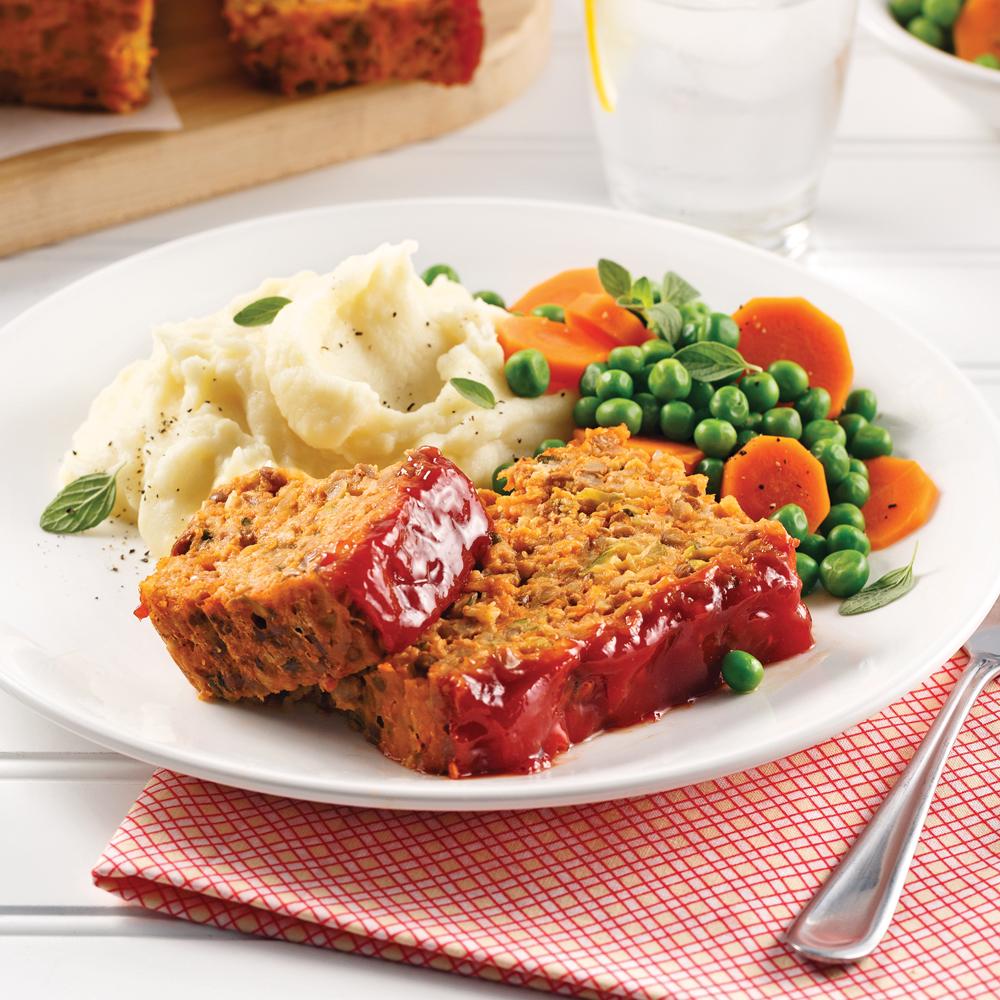 pain de viande aux lentilles recettes cuisine et nutrition pratico pratique. Black Bedroom Furniture Sets. Home Design Ideas