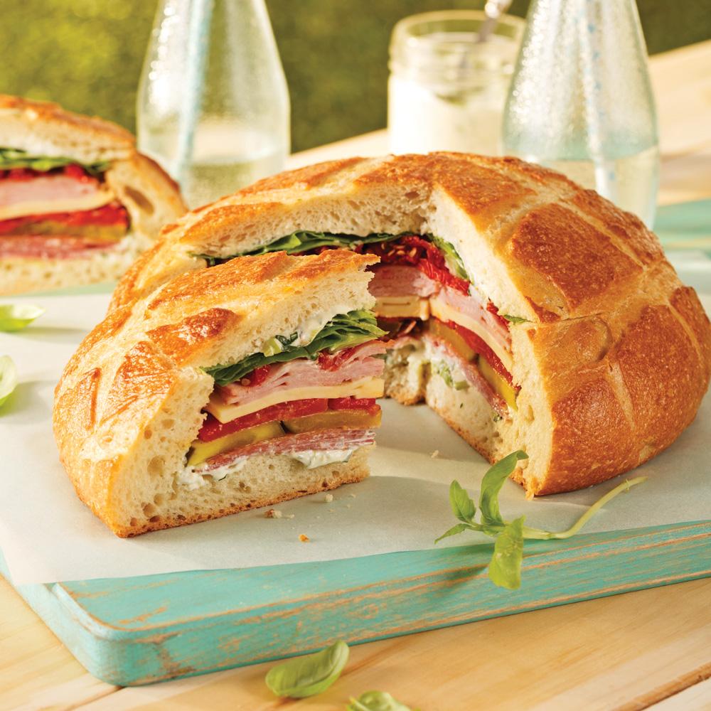 miche de pain sandwich recettes cuisine et nutrition pratico pratique. Black Bedroom Furniture Sets. Home Design Ideas