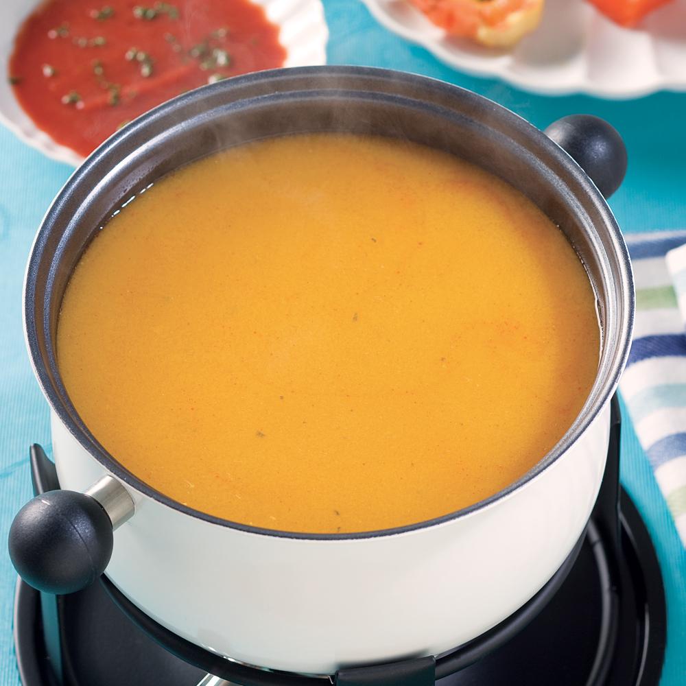 bouillon pour fondue de poisson et fruits de mer recettes cuisine et nutrition pratico. Black Bedroom Furniture Sets. Home Design Ideas