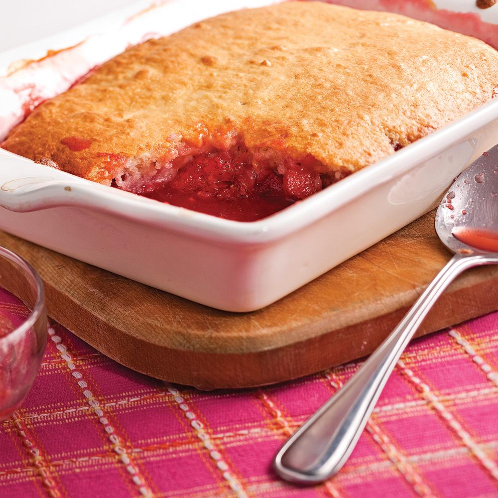 Pouding aux fraises et rhubarbe recettes cuisine et - Cuisine uretre et dessert ...