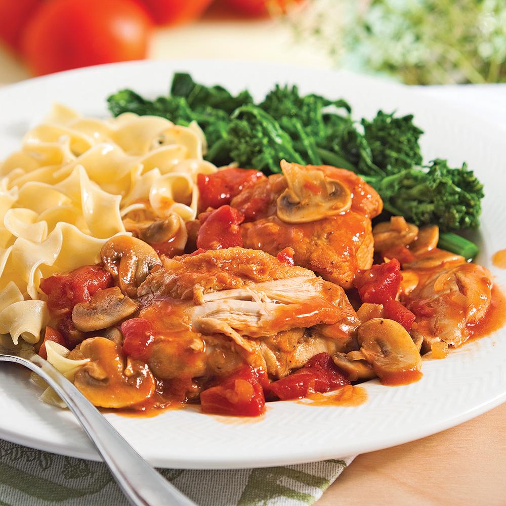 Poulet cacciatore recettes cuisine et nutrition - Recettes cuisine italienne ...