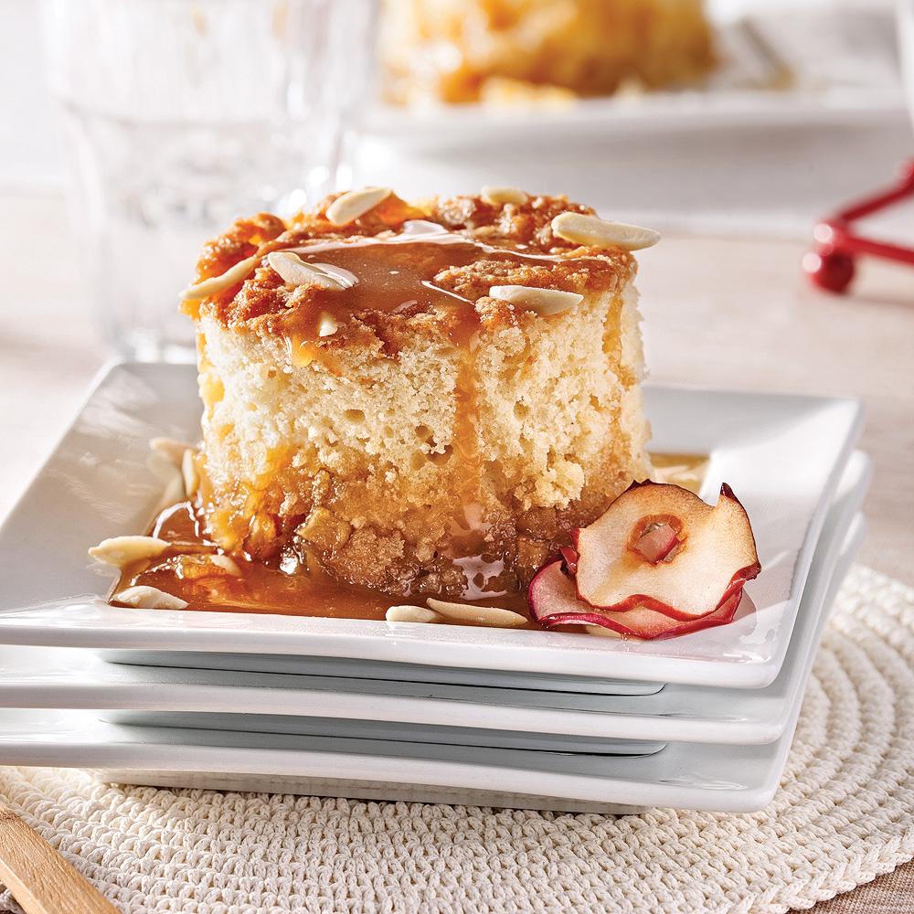 Parfait Aux Pommes Et Au Sirop D érable: Gâteau-pouding Aux Pommes, Sauce Sucre à La Crème D'érable
