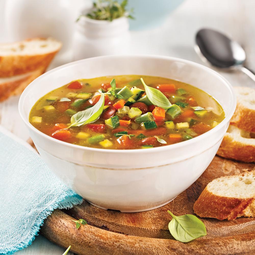 Soupe minestrone la mijoteuse recettes cuisine et for Cuisine 5 15