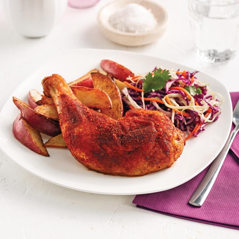 Poulet barbecue la mijoteuse recettes cuisine et - Cuisine a la mijoteuse ...