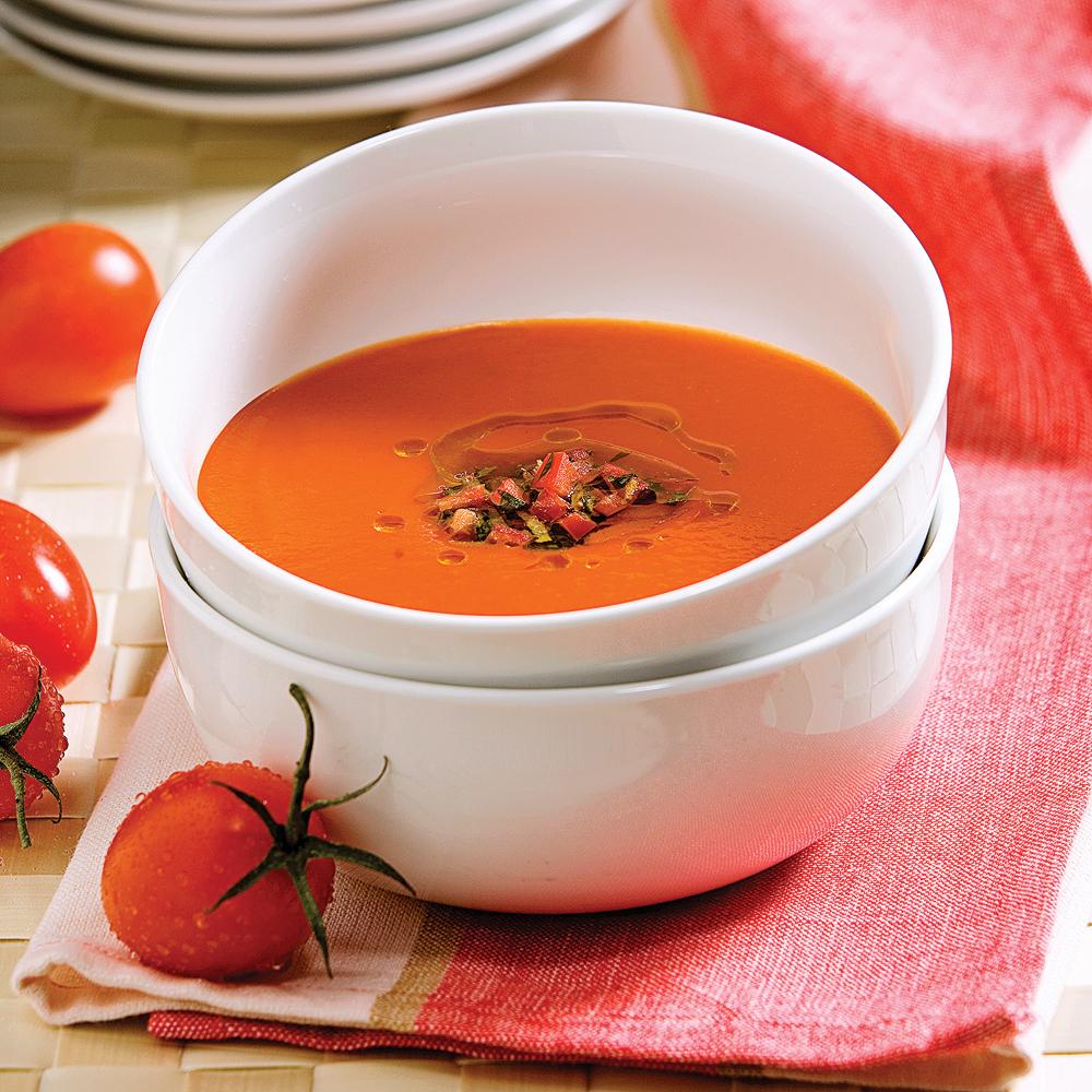 potage aux tomates recettes cuisine et nutrition pratico pratique. Black Bedroom Furniture Sets. Home Design Ideas