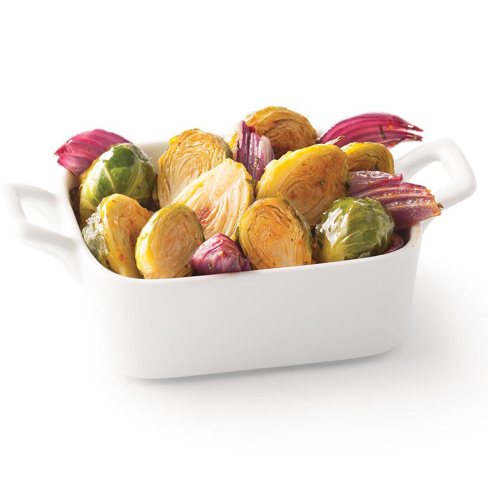 Cuisine Ikea Ou Brico Depot : Choux de Bruxelles et oignon rouge rôtis  Recettes  Cuisine et