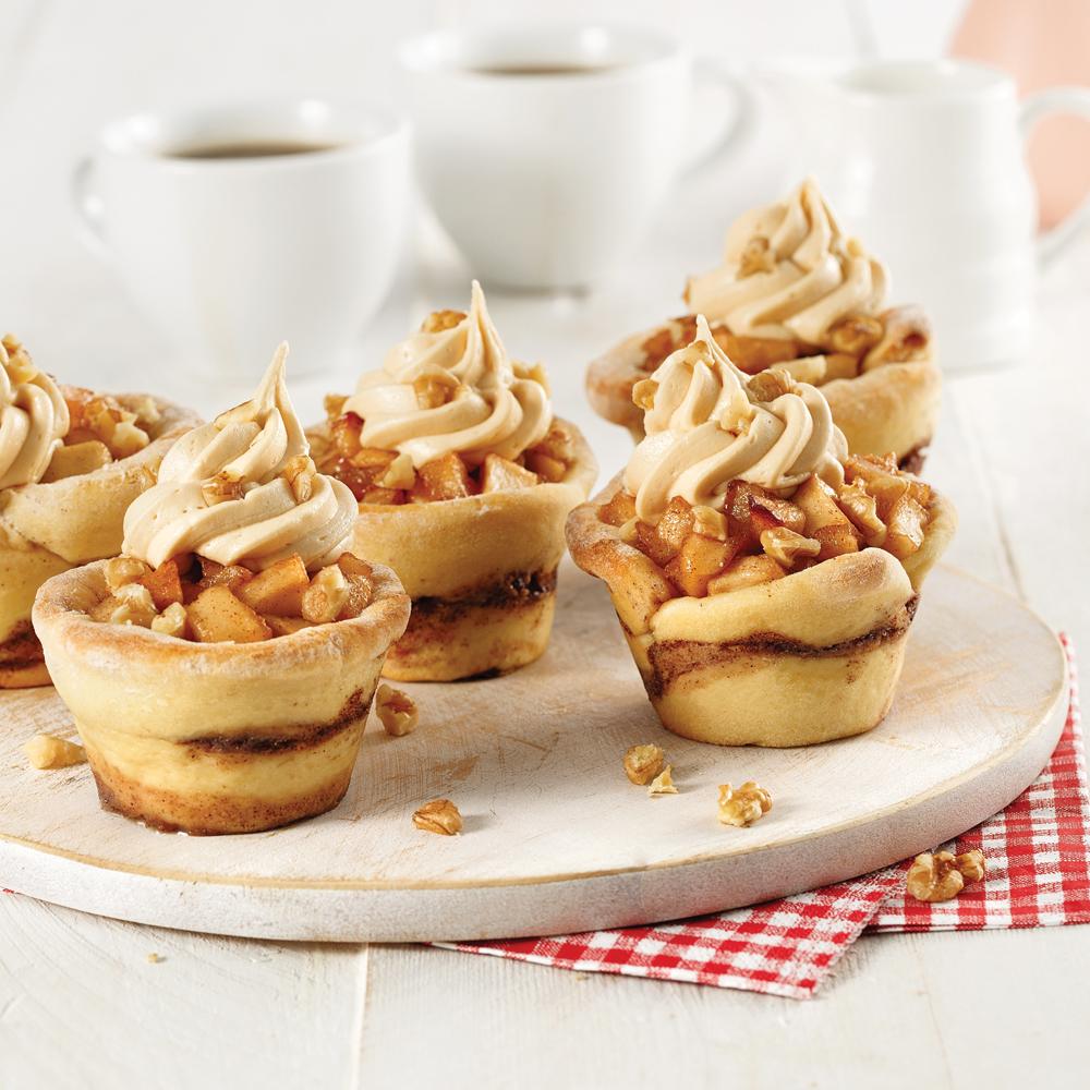 Recettes Tarte Aux Pommes: Cupcakes Tarte Aux Pommes