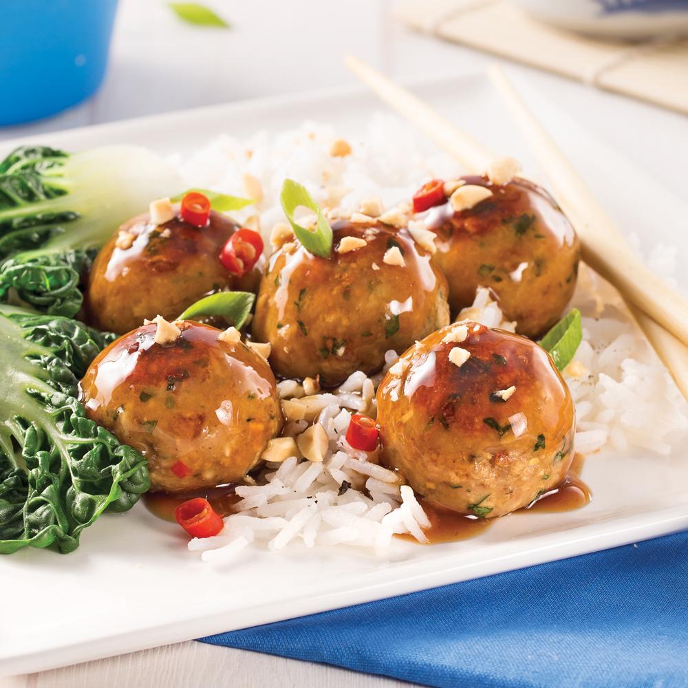 Boulettes teriyaki recettes cuisine et nutrition - Cuisine pratique ...