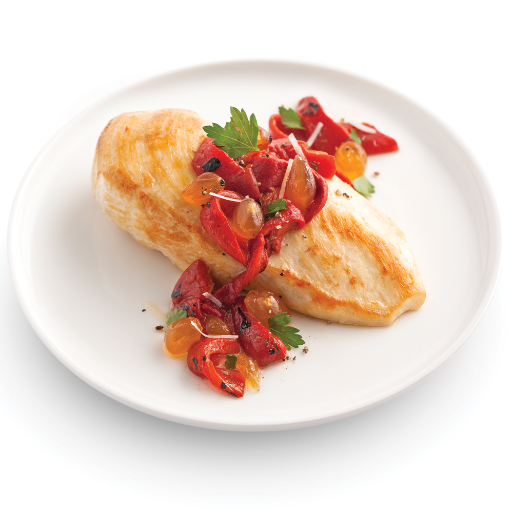 chutney de poivrons r tis au confit d 39 oignons recettes cuisine et nutrition pratico pratique. Black Bedroom Furniture Sets. Home Design Ideas