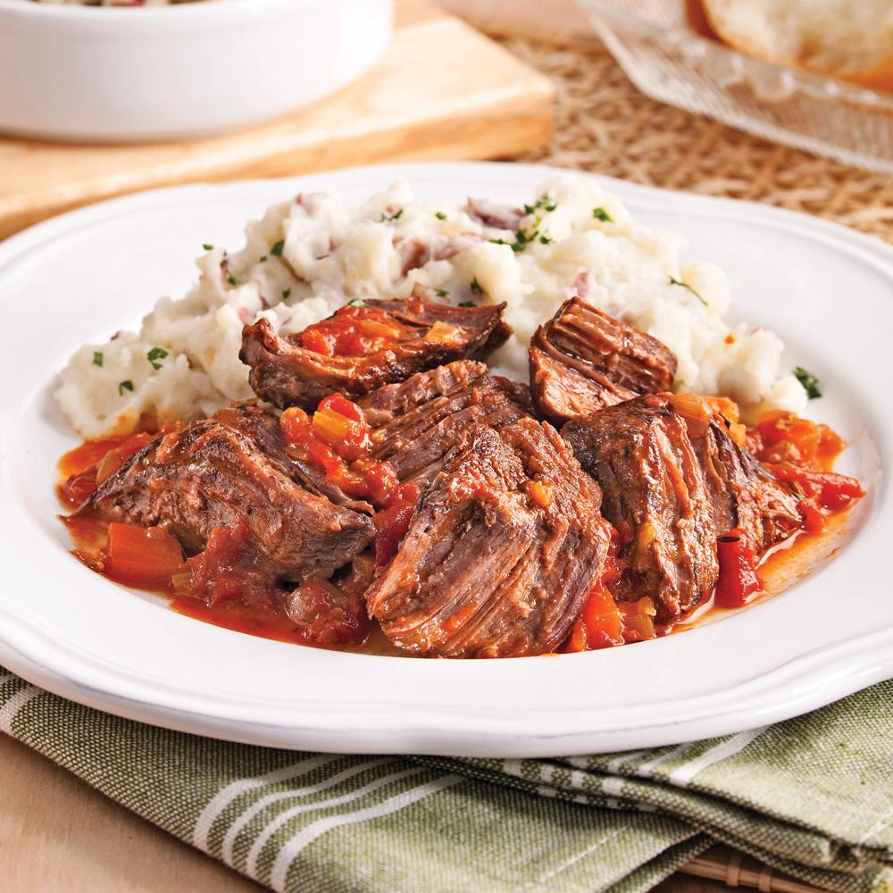 Boeuf brais l 39 italienne recettes cuisine et - Cuisiner roti de boeuf ...