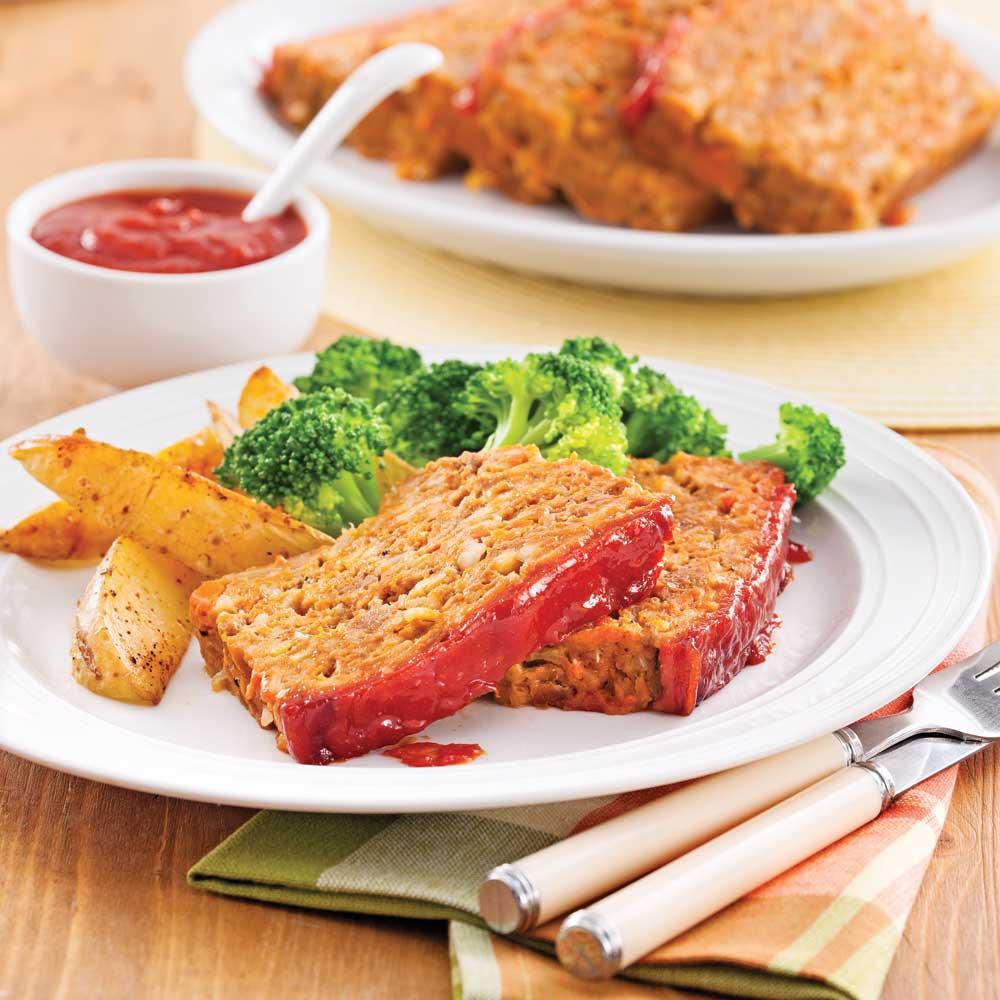 Pain de viande classique recettes cuisine et nutrition for Viande cuisinee