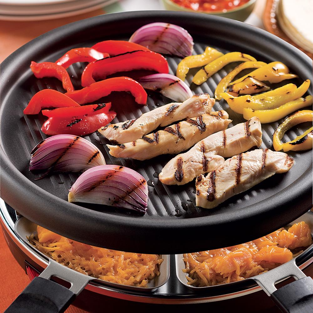 Recette raclette grill