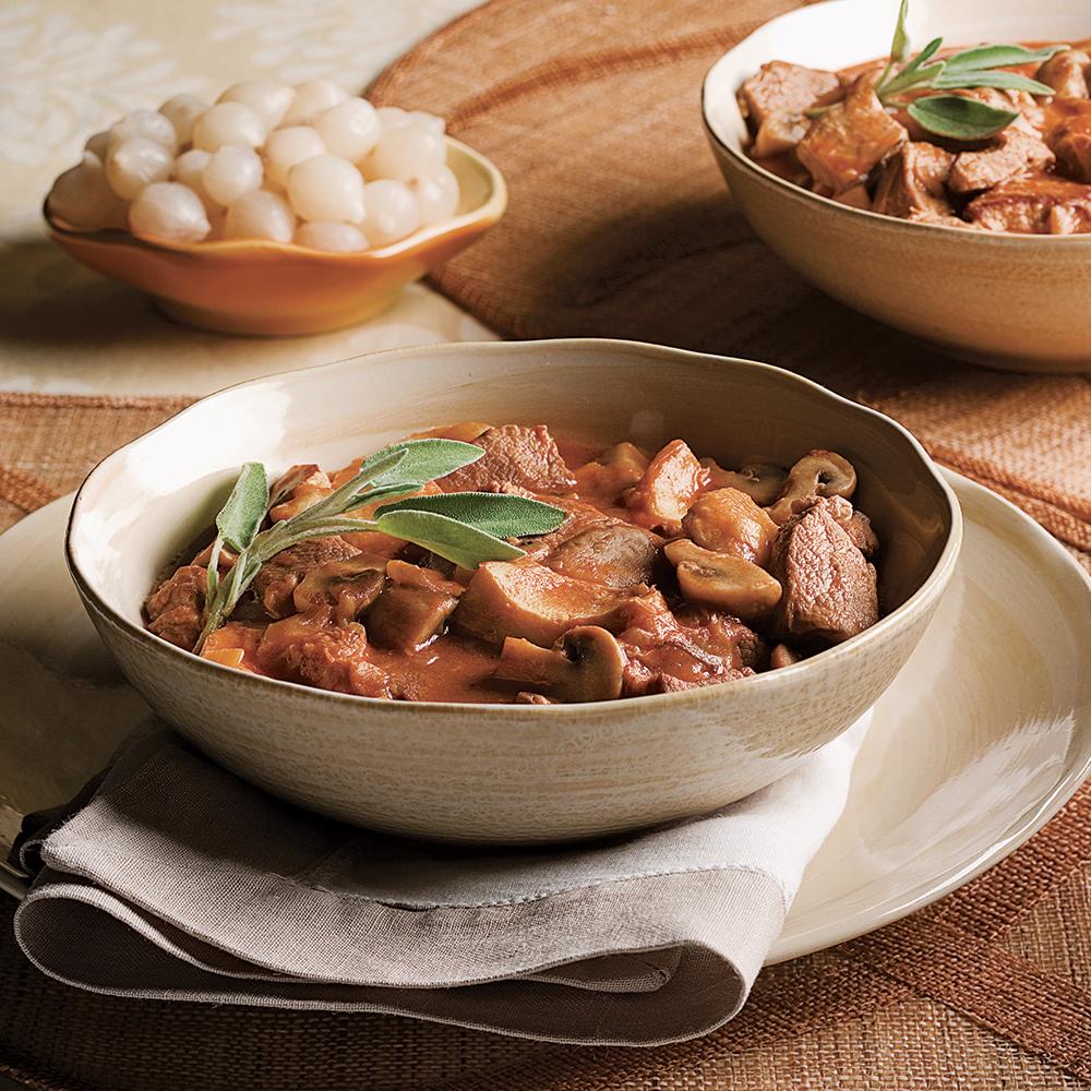 Fricass e de veau aux champignons la mijoteuse - Cuisine a la mijoteuse ...